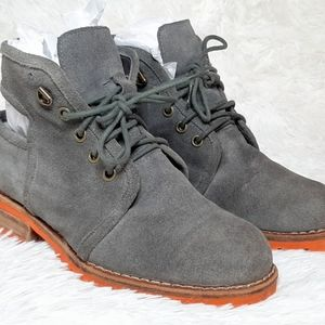 Jeffrey Cambell Suede Boots Sz 6